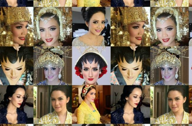 12 Inspirasi Make Up Art Keren dan Indah